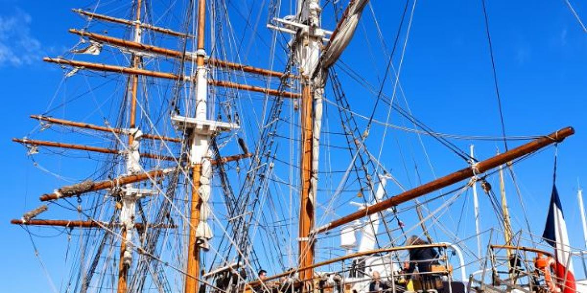 Le Français in the Port of Saint Tropez