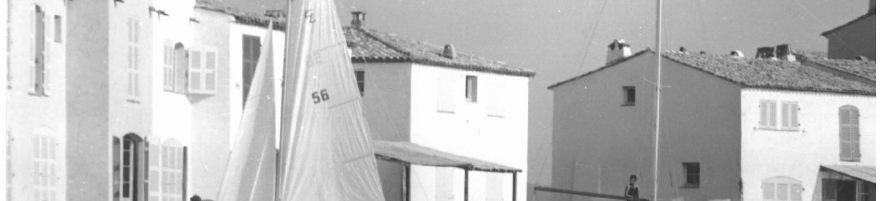 Photos souvenirs de la naissance de Port-Grimaud