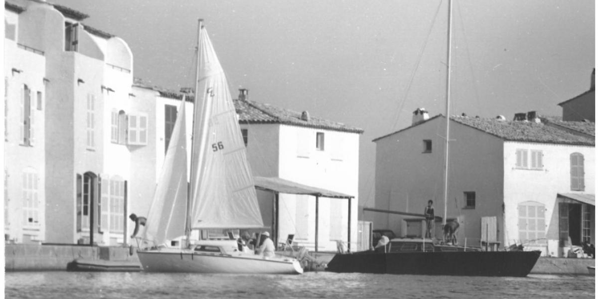 Photos memories of the birth of Port-Grimaud