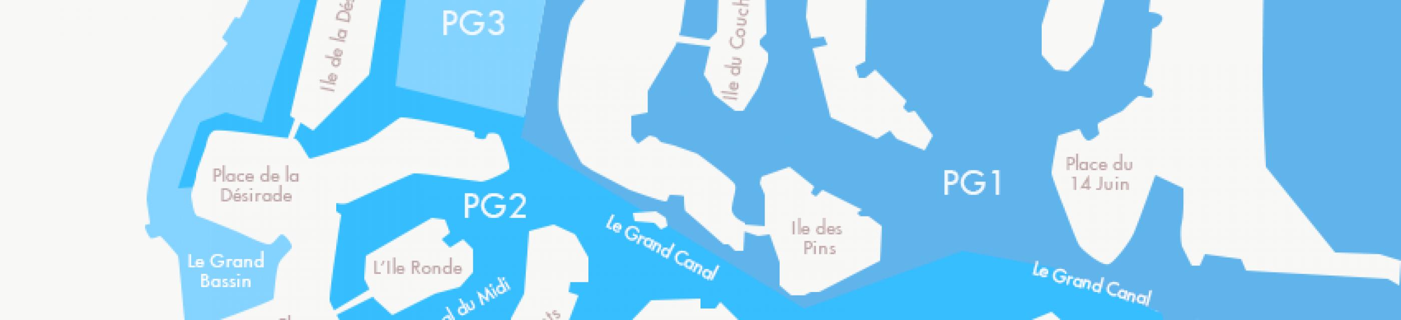 Vivre à Port Grimaud : les quartiers - agence immo Logi-Service