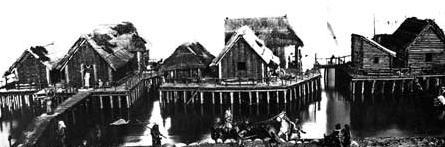 Construction cité lacustre Port Grimaud - Logiservice