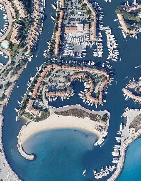 Port Grimaud vue du ciel - Cite lacustre - Agence immobiliere Logiservice