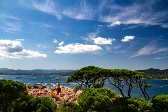 Port Grimaud vue Golfe de Saint Tropez navigation - Logi-Service