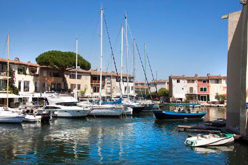 Port Grimaud Marina Golfe de Saint Tropez - Logiservice agence immobiliere Var