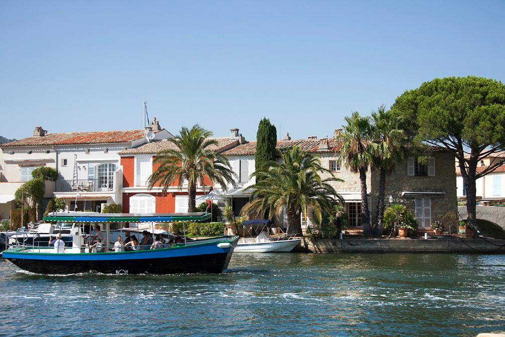 Port Grimaud cite lacustre - Golfe de Saint Tropez Logiservice