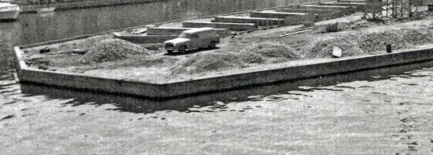 Construction de la cite lacustre Port Grimaud dans le Var - Logiservice