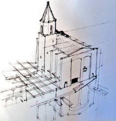 Plan du clocher de Port Grimaud